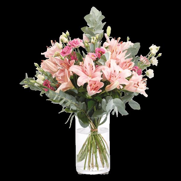 Straußbild Herzklopfen Blumen Heller