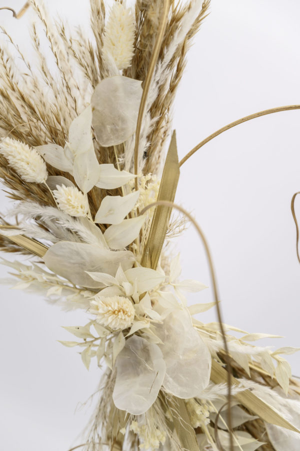 flower hoop detail