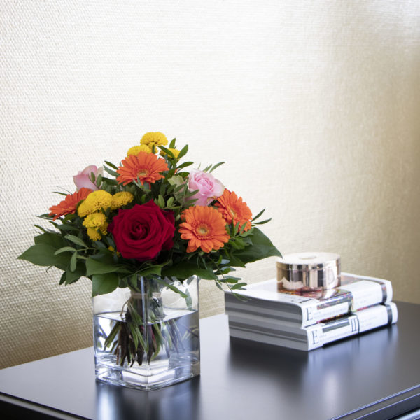 Stimmungsbild Die besten Glueckwuensche scaled Blumen Heller