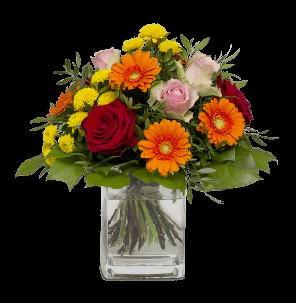 Straußbild Die besten Glückwünsche Blumen Heller