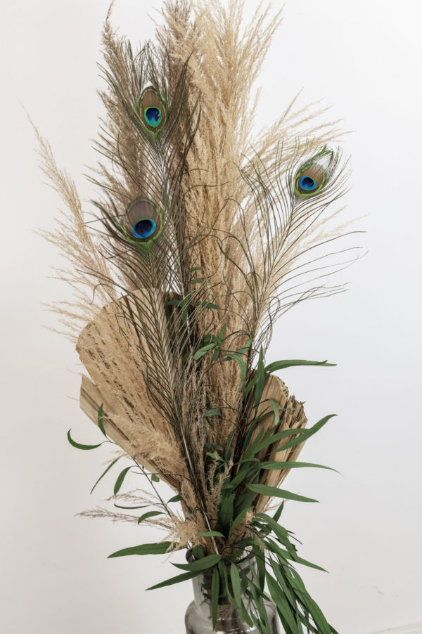 Trockenblumen-Arrangement