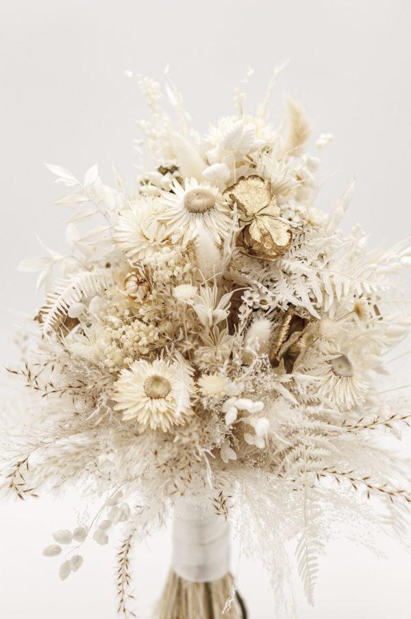 Brautstrauß Trockenblumen