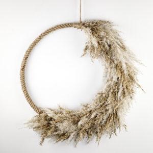 pampas hoop