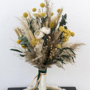 Trockenblumen Haarschmuck