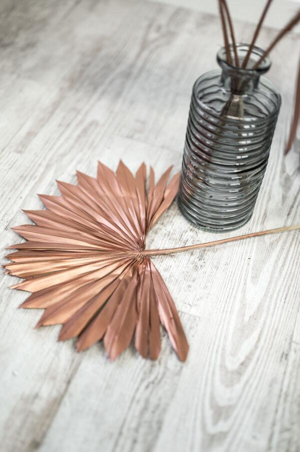 Palmblätter kupfer
